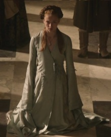 Sansa S1 Blue Wrap Dress