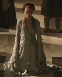 Sansa S1 Blue Wrap Dress