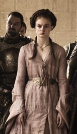 Sansa S1E10 Pink Wrap Dress