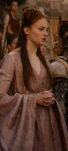 Sansa S2 Pink Dress