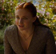 Sansa S3 Wavy Dress with Tyrion Closeup