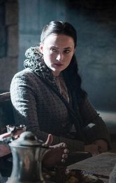 Sansa S5 Bolton Dinner Northern Clothes