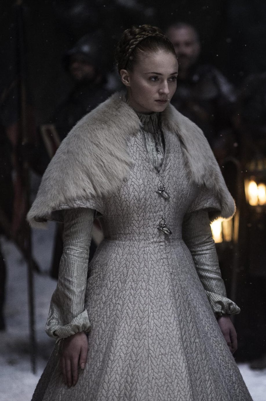 The Wardrobe Metamorphosis Of Sansa Stark Backroom Whispering